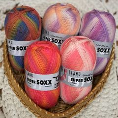 Lang Yarns Super Soxx Color 4-ply Sukkalanka